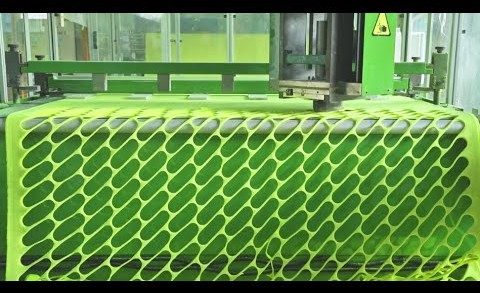 Behind the Scenes of How Tennis Balls Are Made