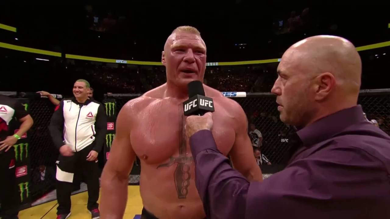 Brock Lesnar speaks to the United States in Octagon Interview