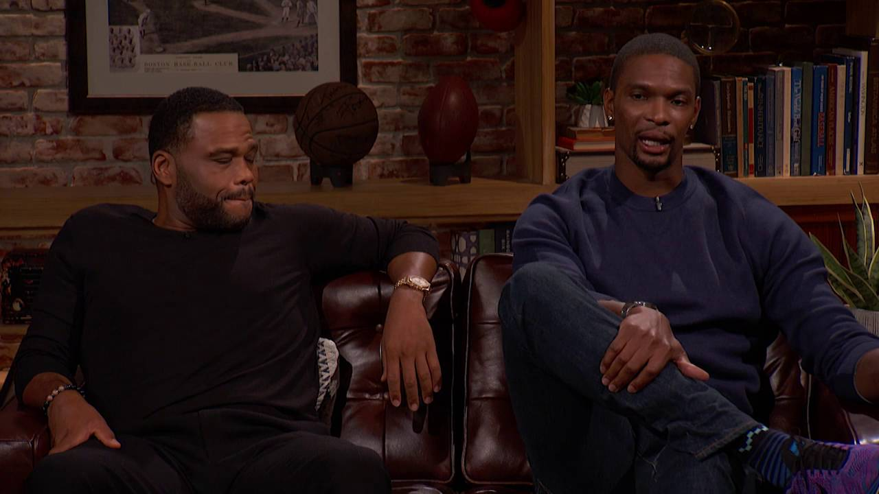 Chris Bosh & Anthony Anderson speak on Kevin Durant's move to GSW