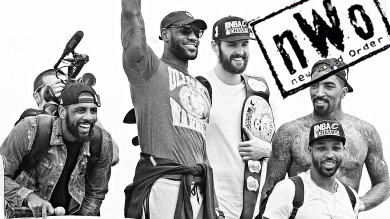 Cleveland Cavaliers Championship run gets NWO treatment