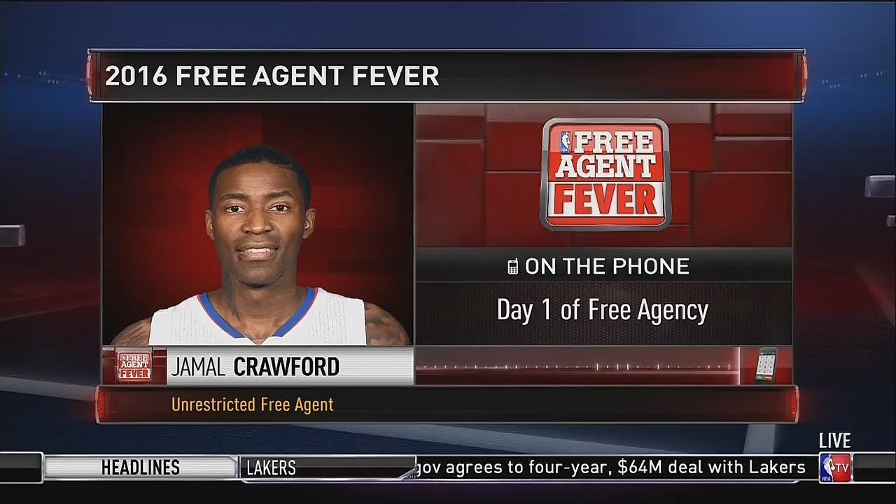 Jamal Crawford calls NBA Free Agency