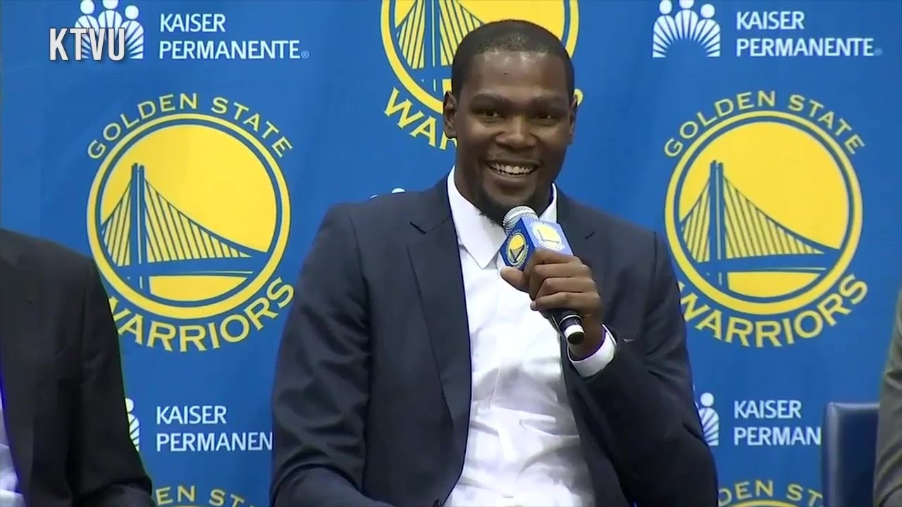 Kevin Durant says he needed to look Steph Curry in his eyes