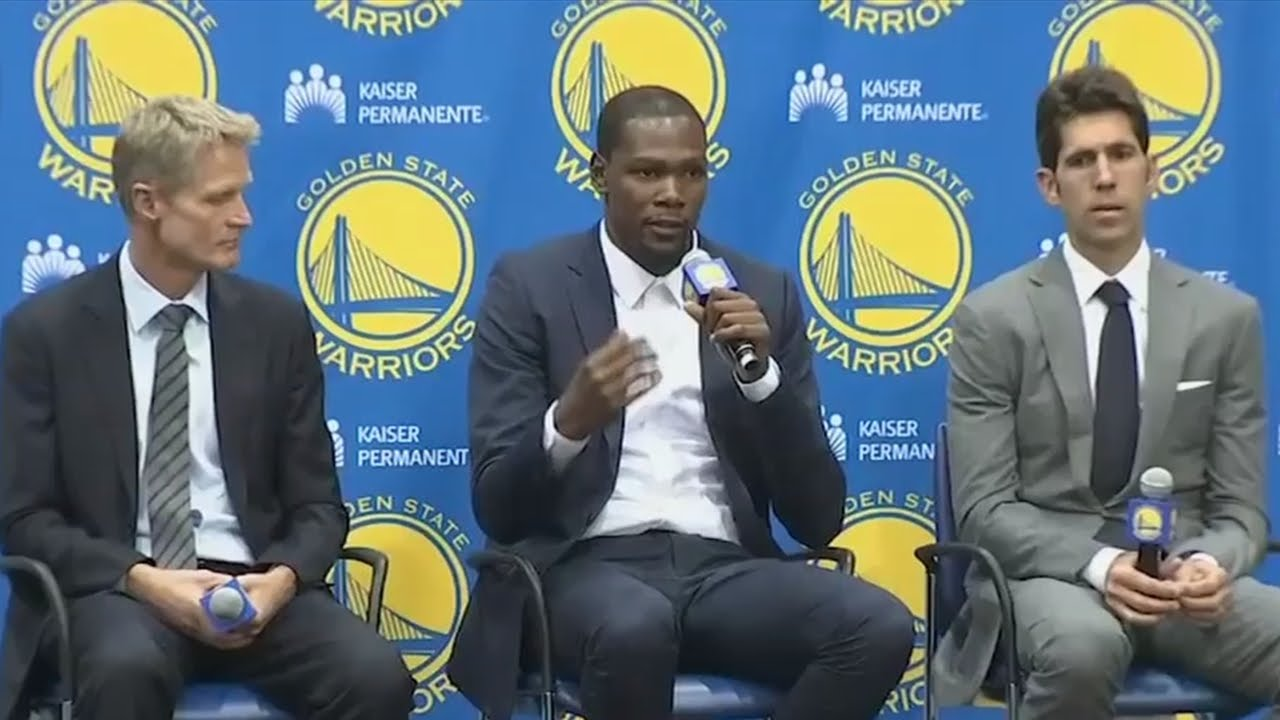 Kevin Durant says leaving OKC was
