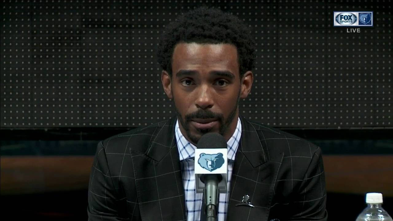 Memphis Grizzlies' Mike Conley says he hasn't celebrated contract because of injustices
