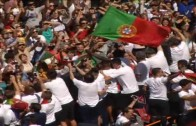 Portugal celebrates Euro 2016 victory home in Lisbon