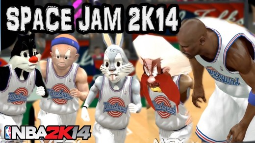"""Space Jam"" movie gets the NBA 2K Treatment"