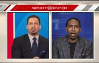 Stephen A. Smith rips Chris Broussard about Kevin Durant going to Golden State
