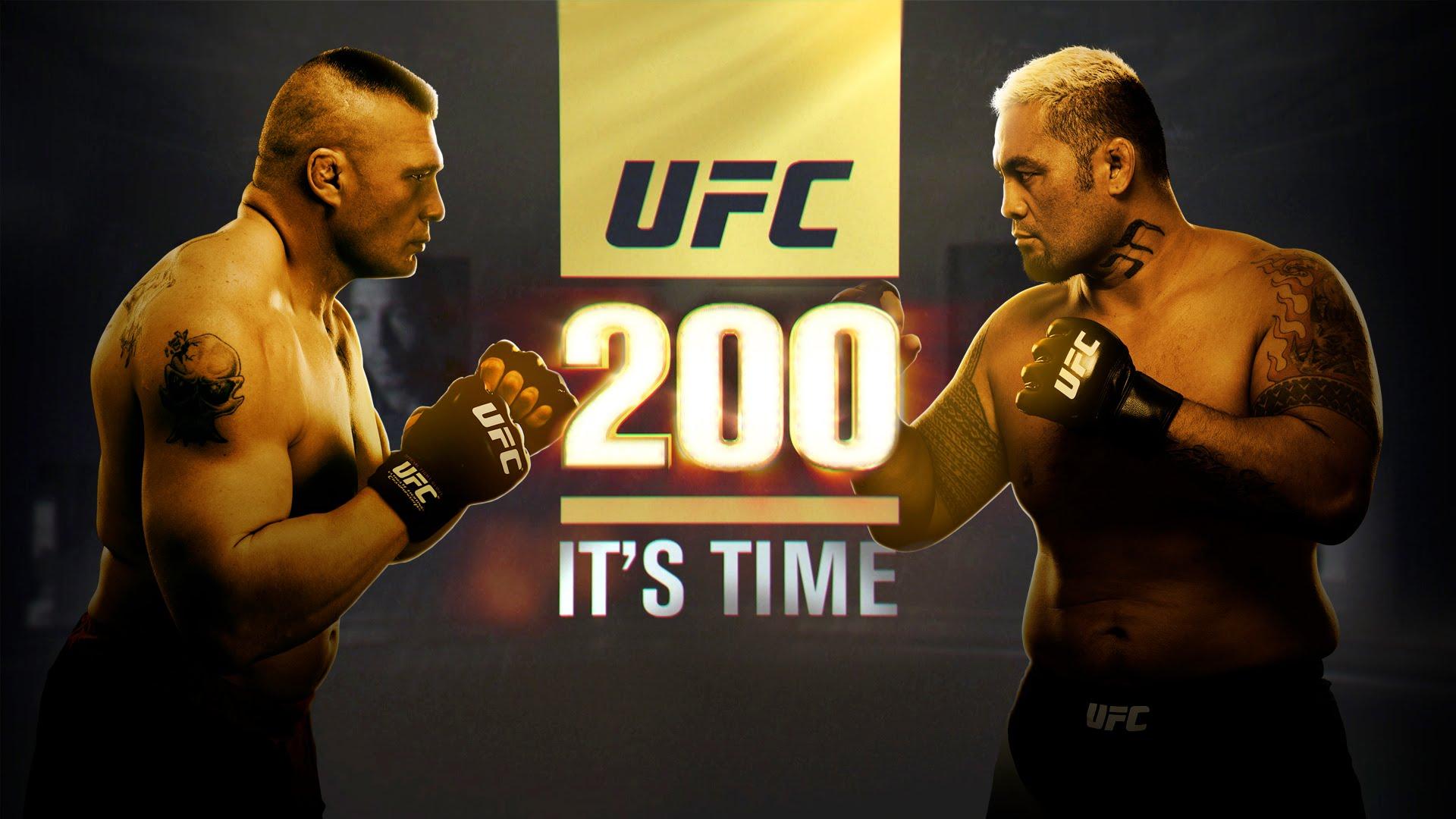 UFC 200 Promo for Brock Lesnar vs Mark Hunt