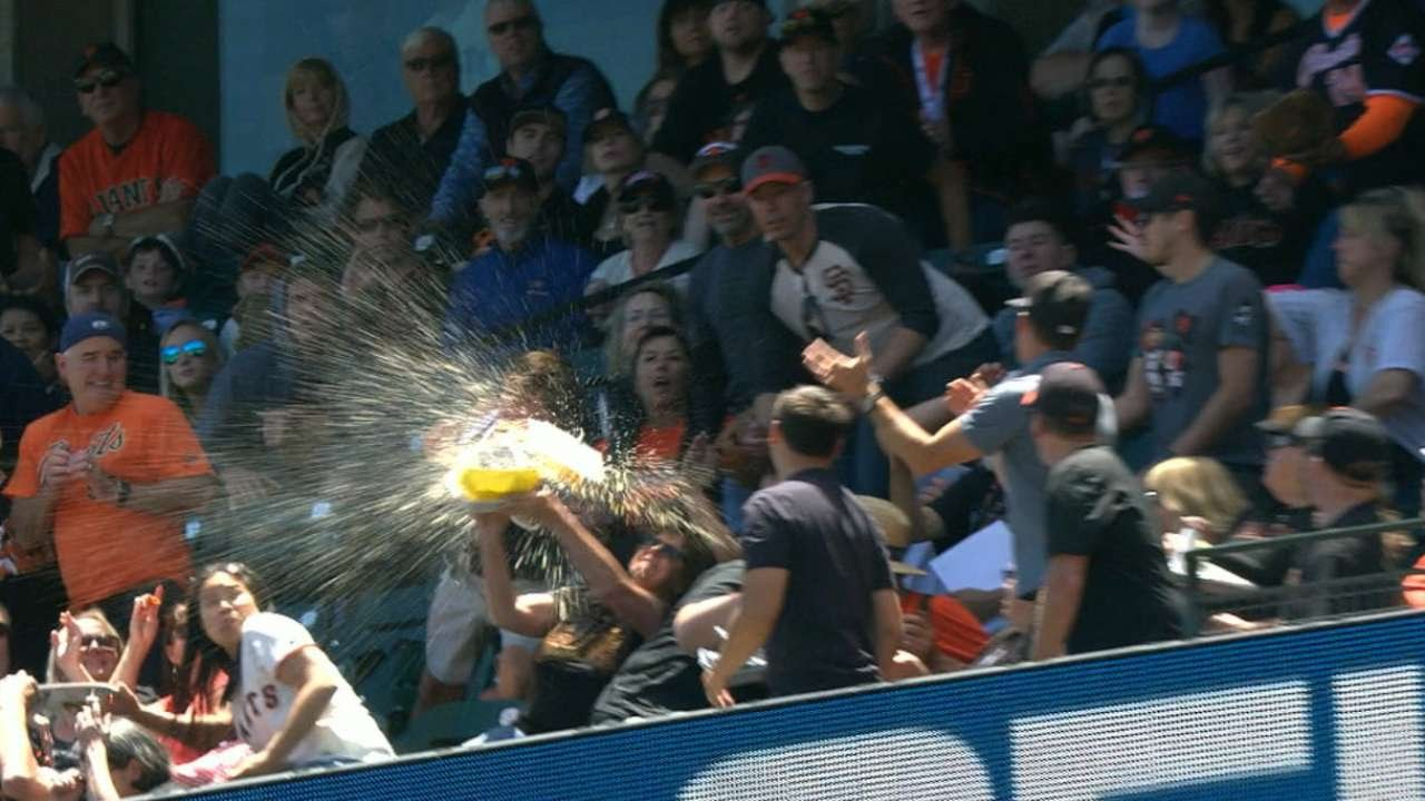 Why You Should Never Catch a Foul Ball With Your Food Tray