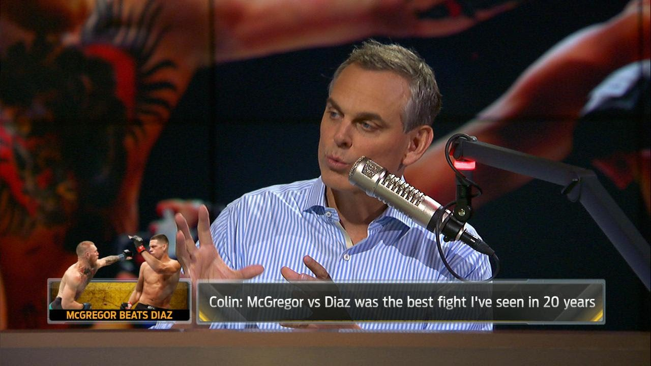 Colin Cowherd says McGregor vs. Diaz 2 was the best fight in 20 years
