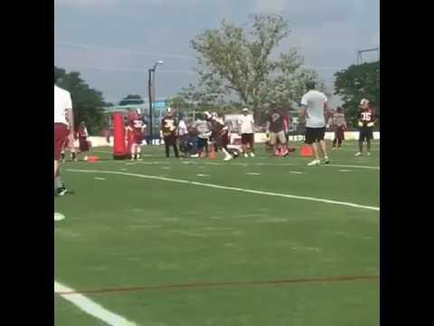 DeSean Jackson beats Josh Norman at Redskins camp