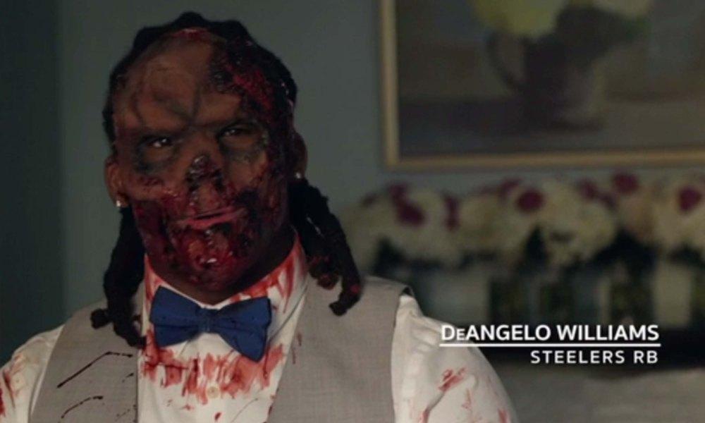 DeAngelo Williams has a Walking Dead wedding