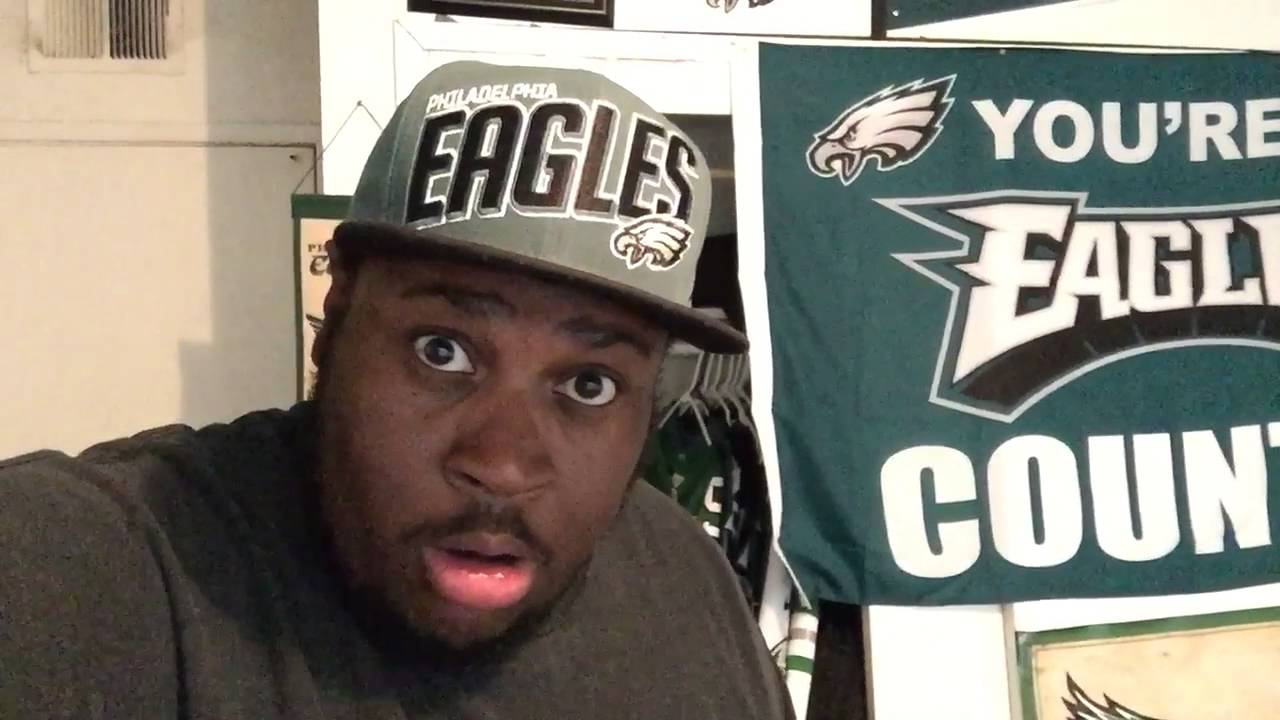Eagles fan EDP throws his hat in tirade over Carson Wentz injury
