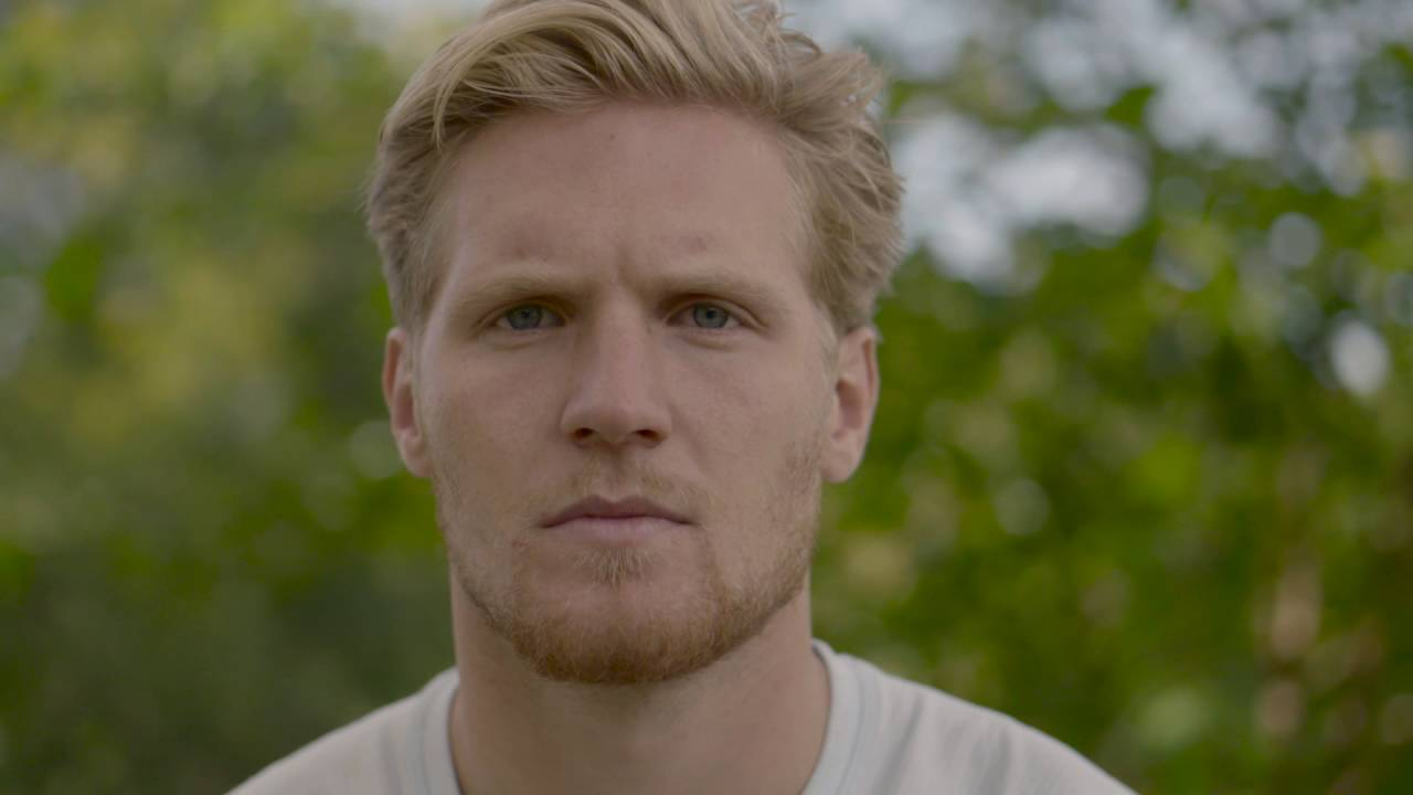 Gabriel Landeskog talks about his recovery from a concussion in 2012