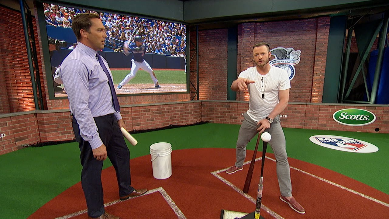 Josh Donaldson breaks down his swing with MLB Network