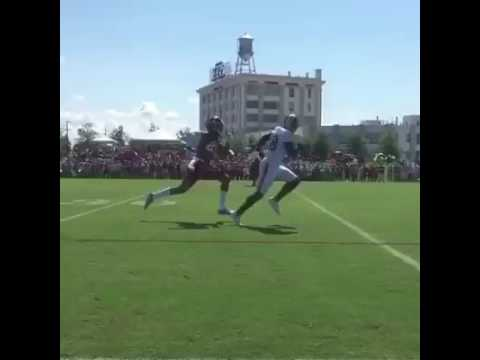 Josh Norman gets burned by Pierre Garcon at Redskins camp