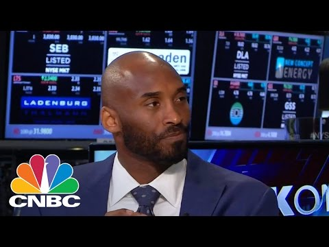 Kobe Bryant speaks on his $100M Capital Investment Fund