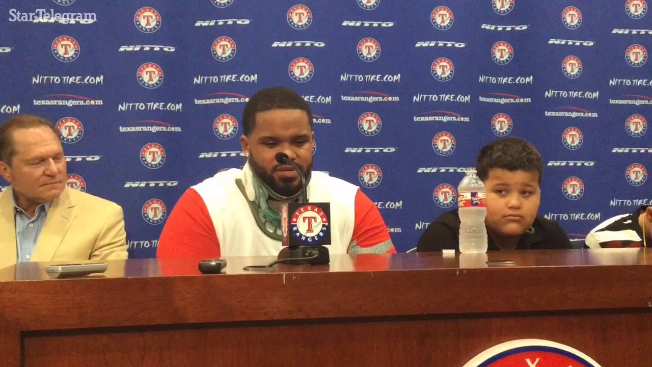 Prince Fielder's emotional goodbye press conference to baseball