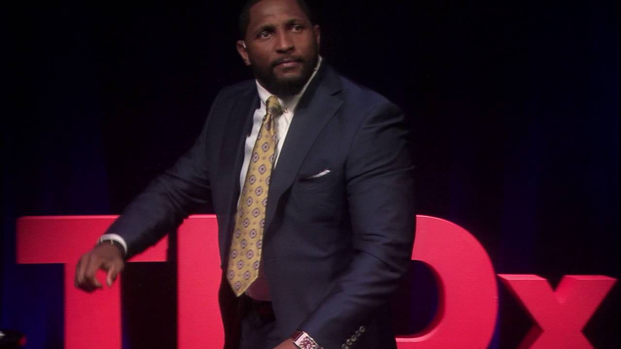 Ray Lewis TEDx Talk on overcoming unexpected pain