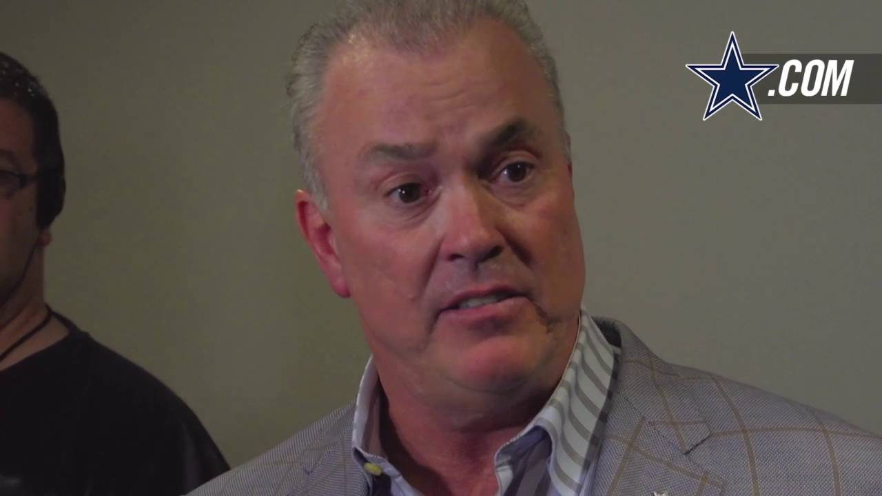 Stephen Jones speaks on Tony Romo's future following broken back
