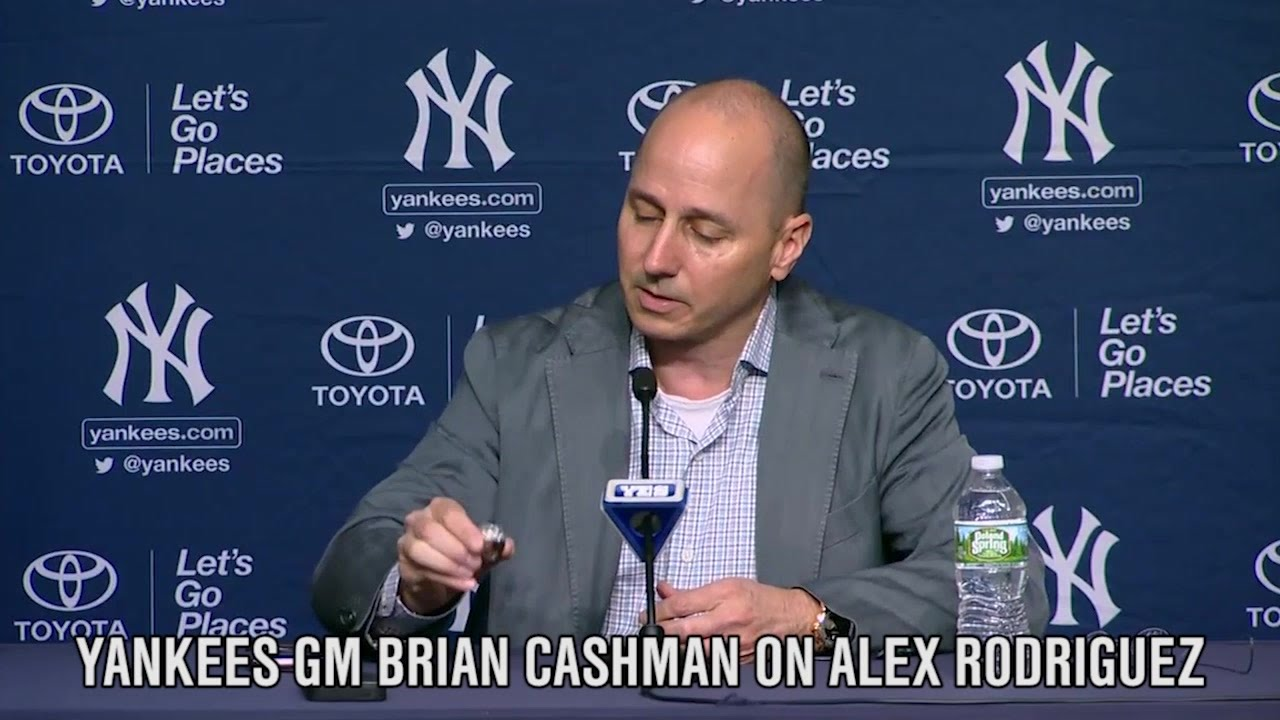 Yankees GM Brian Cashman speaks on what Alex Rodriguez meant to New York