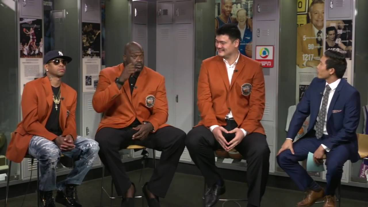 Allen Iverson, Shaq & Yao Ming reminisce on their NBA careers