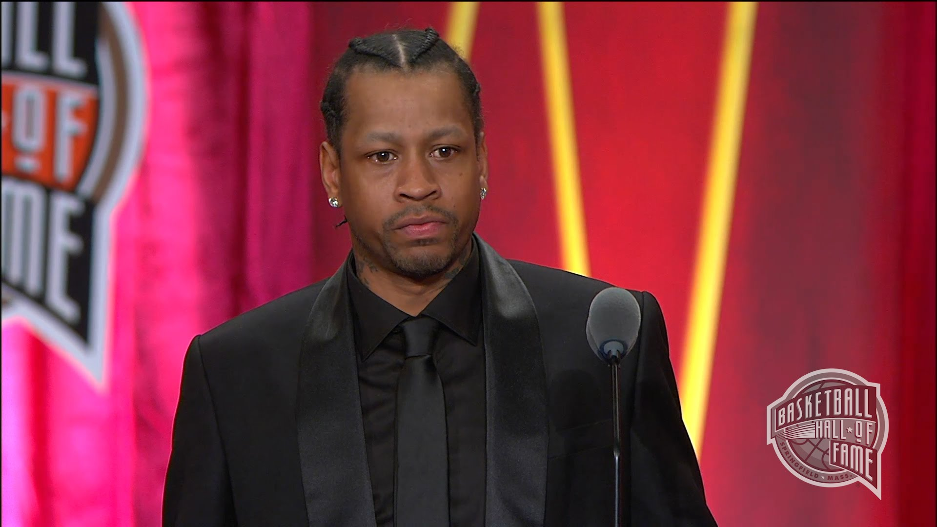 Allen Iverson's Basketball Hall of Fame Induction Speech