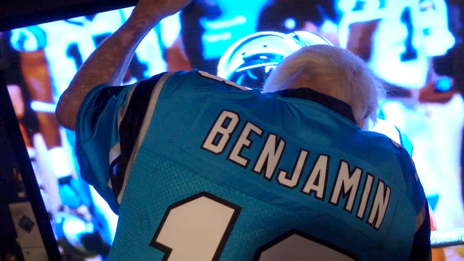 Angry grandpa loses his mind after Panthers loss to Broncos