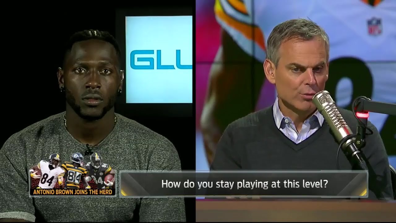 Antonio Brown talks twerking in the endzone with Colin Cowherd