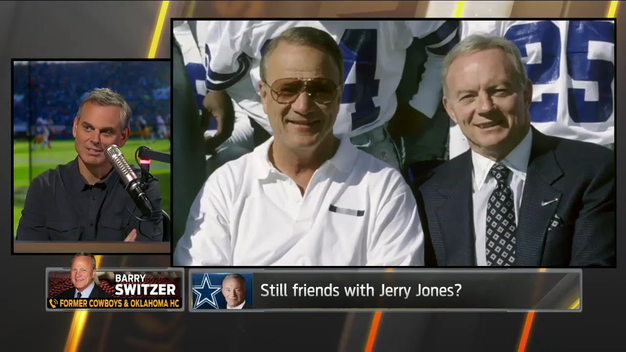 Barry Switzer talks working for Jerry Jones as Cowboys head coach