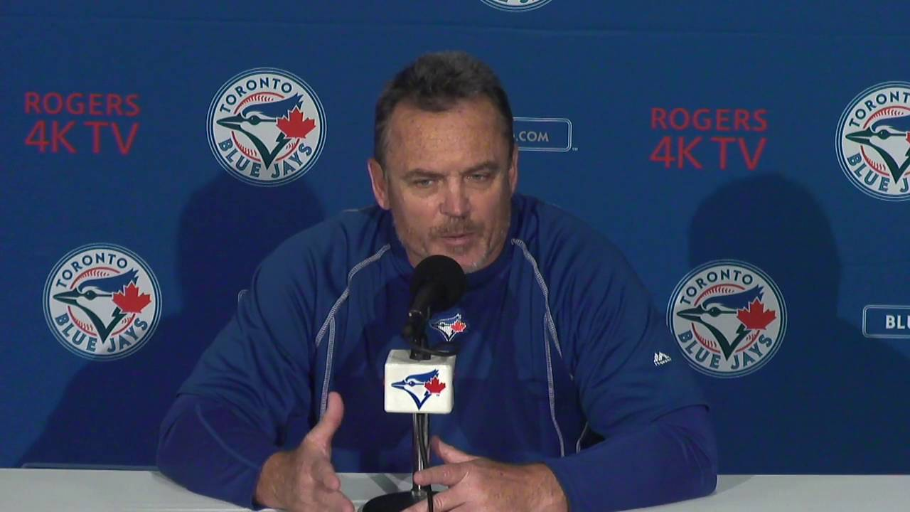 Blue Jays manager John Gibbons says his team has hit rock bottom