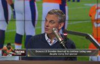 Broncos LB Brandon Marshall loses endorsements over protest
