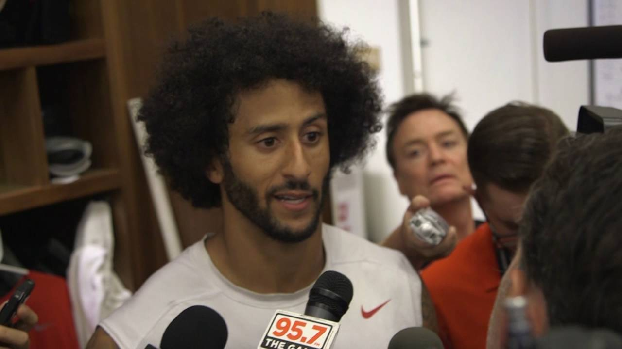 Colin Kaepernick responds to being on the cover of TIME Magazine