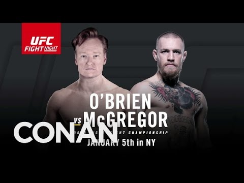 Conan has part ownership stake in UFC & wants to fight in the Octagon