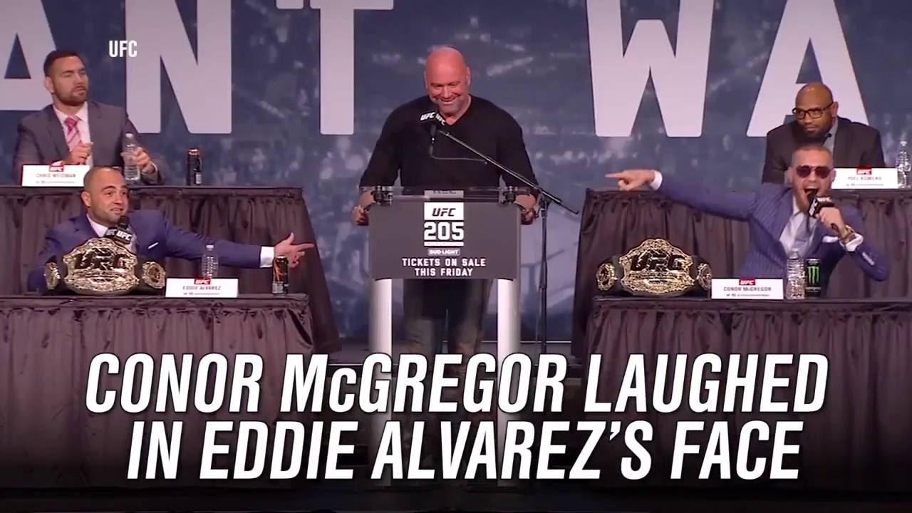 Conor McGregor predicts first round KO of Eddie Alvarez at UFC 205