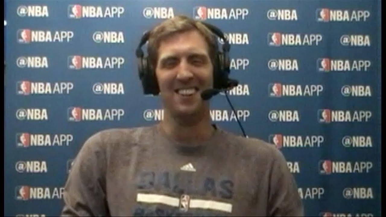 Dirk Nowitzki speaks on the Mavs upcoming season & retirement