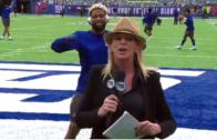 Odell Beckham Jr. video bombs Fox Sports reporter