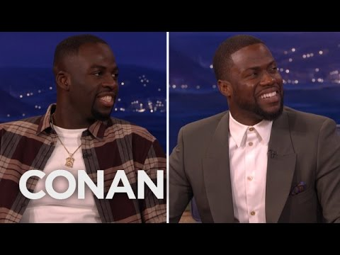 Draymond Green says Kevin Hart sucks at basketball