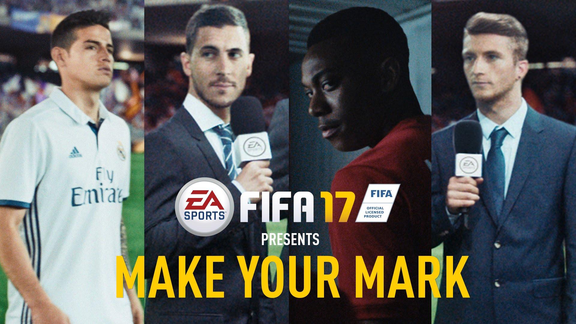 EA Sports FIFA 17 latest trailer