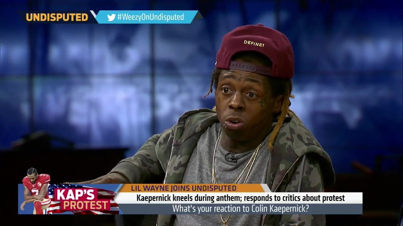 Lil Wayne discusses Colin Kaepernick & says he's never experienced racism