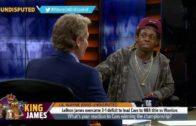 Lil Wayne & Skip Bayless debate if LeBron James is clutch
