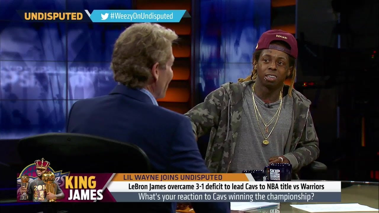 Lil Wayne & Skip Bayless debate if LeBron James is clutch