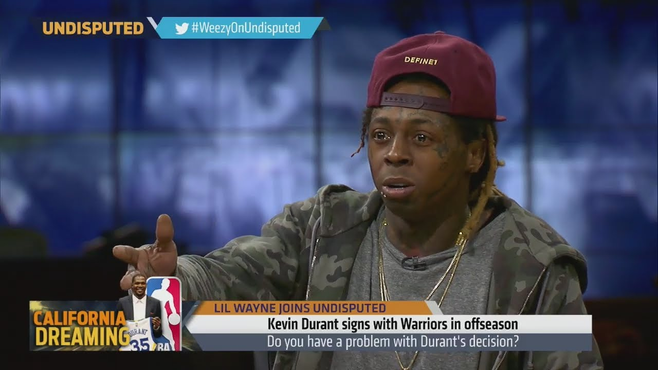 Lil Wayne speaks on Kevin Durant & Dwyane Wade changing teams