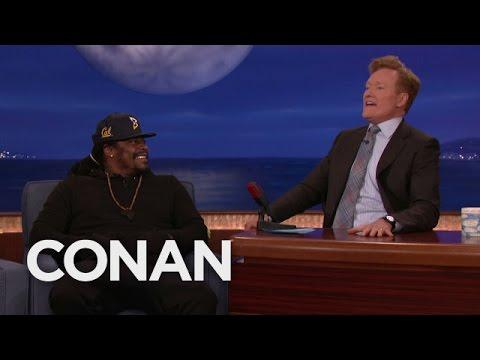 Marshawn Lynch teaches Oakland slang to Conan