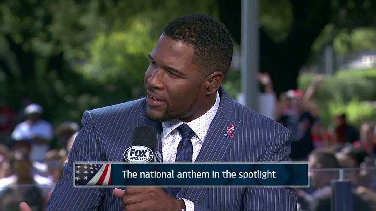 Michael Strahan calls Colin Kaepernick protests