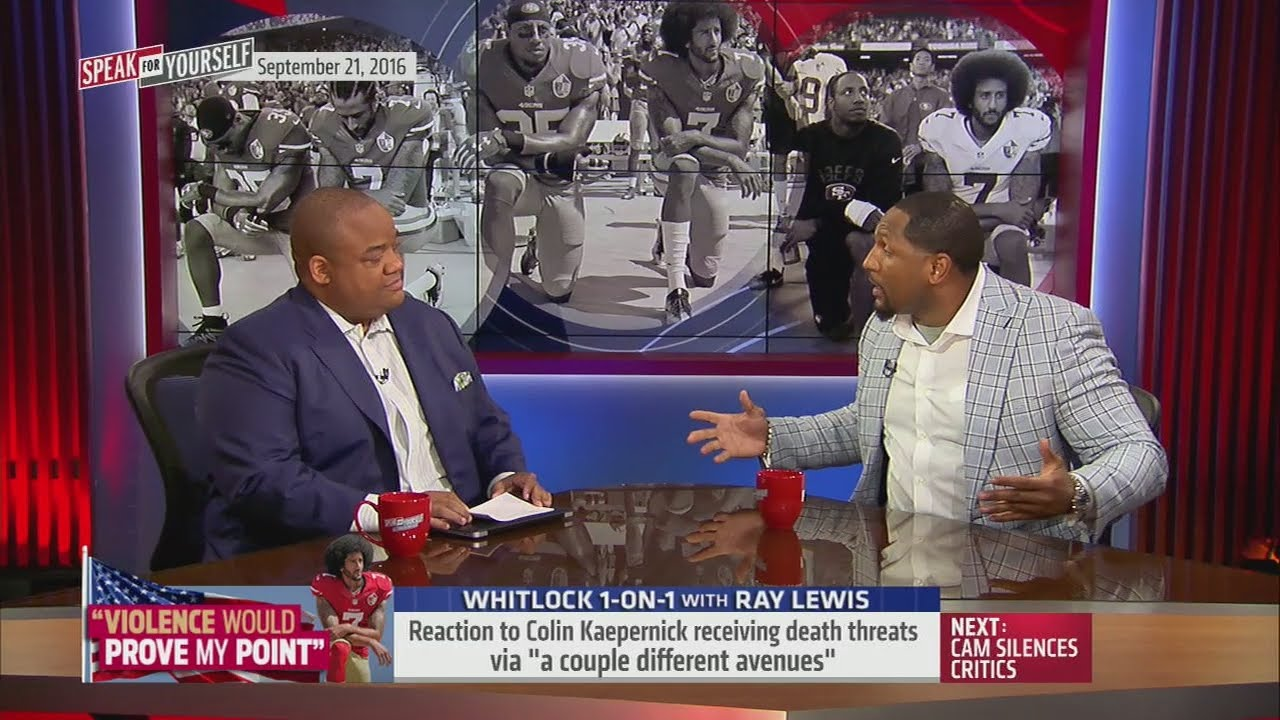 Ray Lewis gives advice to Colin Kaepernick