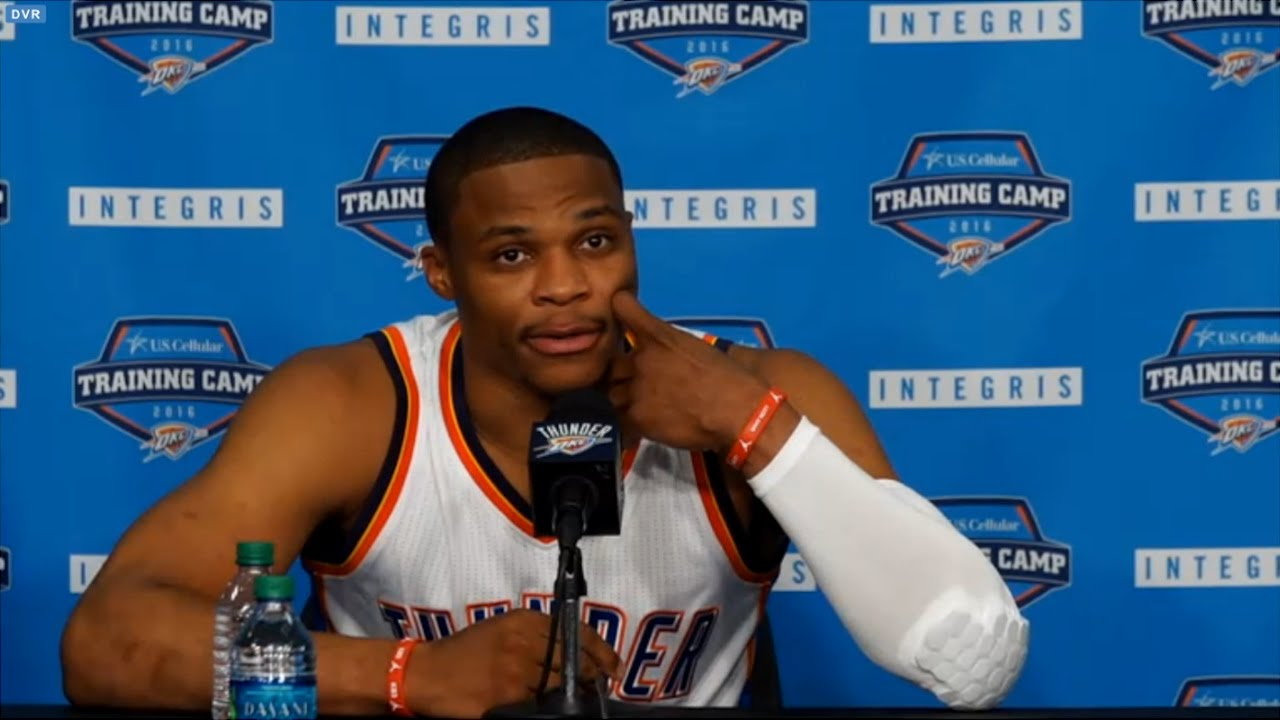 Russell Westbrook says he still hasn't spoken to Kevin Durant