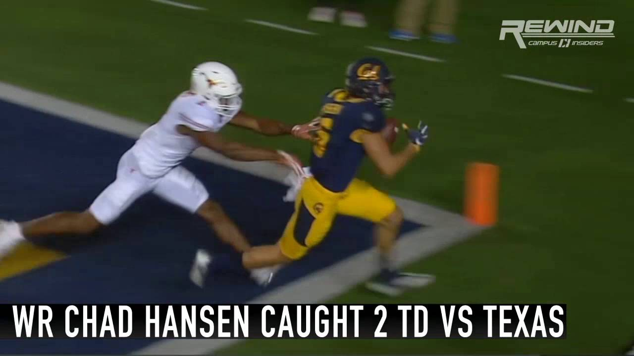 Savage: California wide receiver Chad Hansen trolls Texas