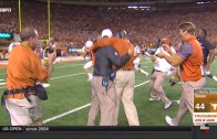 Tyrone Swoopes scores game-winning touchdown in Double OT for Texas