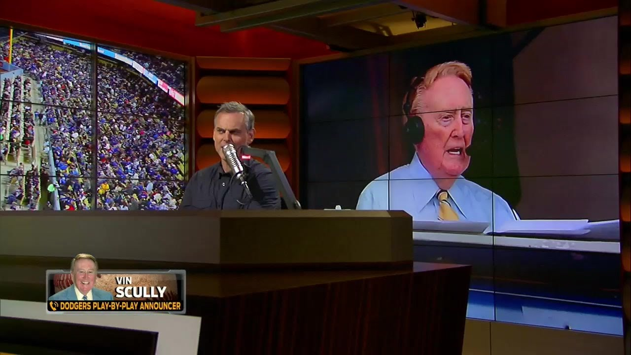 Vin Scully talks his most memorable calls with Colin Cowherd